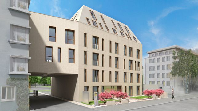 wohn gesch ftshaus krausenstrasse hannover 2016 thi holding gmbh co kg. Black Bedroom Furniture Sets. Home Design Ideas